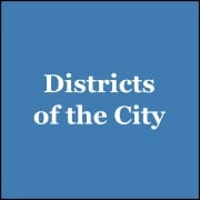 districts of city web